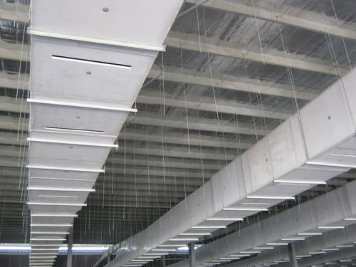 写字楼中央空调风管