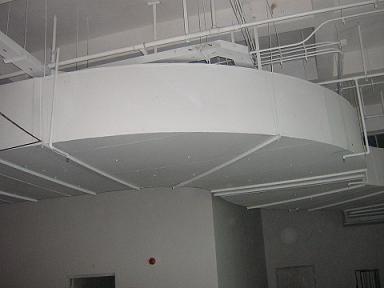 制药车间的中央空调风管