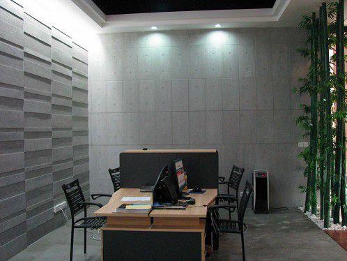 壁岩板做立体感的内墙装饰面