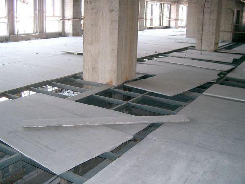水泥板做楼板