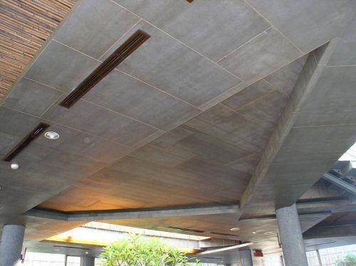 水泥板做公装吊顶