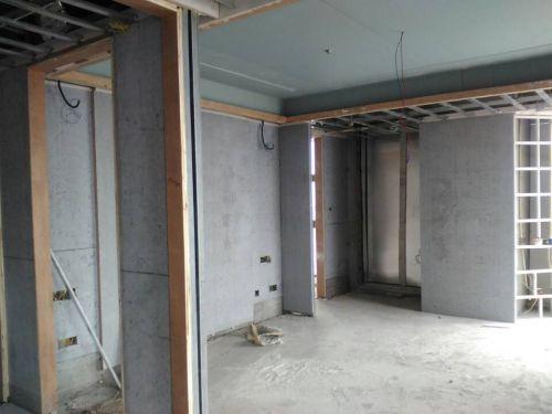 水泥板做隔墙