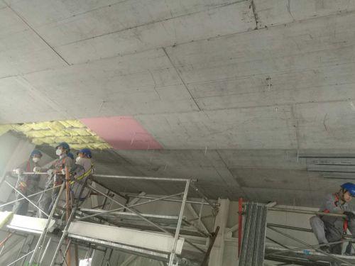 水泥板做防爆吊顶