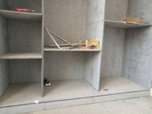 纤维水泥板做橱柜