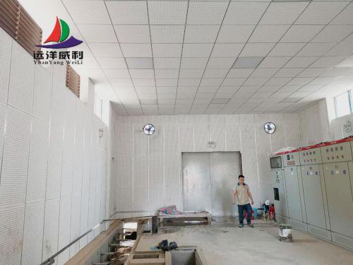 【案例分享】穿孔吸音板机房吊顶墙壁全包围案例赏析