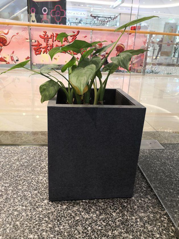 纤维水泥板做花盆