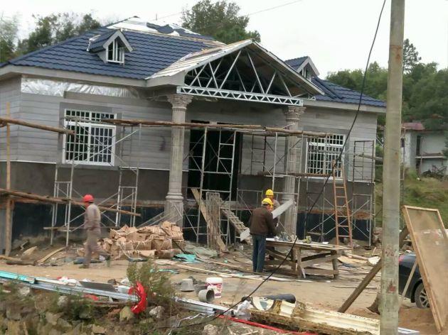 轻钢房屋使用案例3