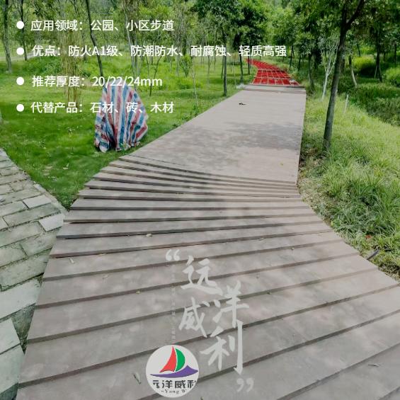 公园、小区步道